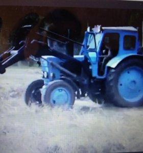 тракторист с собственным трактором