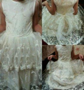 Платье для девочки 4,5лет