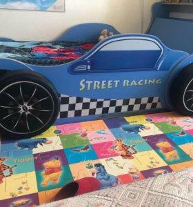 Кровать Питстоп, колеса подушки в подарок !!!