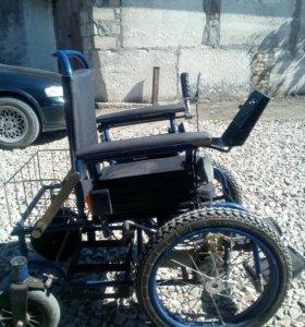 """Кресло-коляска с электроприводом """"Искра-КЭП"""""""