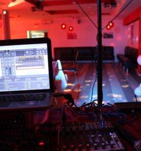 dj с оборудованием,аренда звука и света.