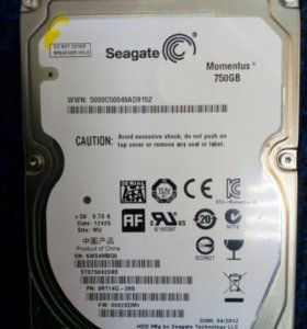 2.5 дюйма 750GB Seagate ST9750420AS (669983)
