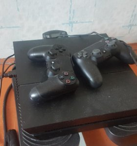 playstation 4 ps4 1000гб 2 джостика