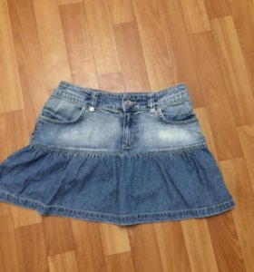 Юбки джинс