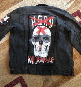 Джинсовая куртка Disturbia