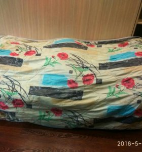 Одеяло бу. Длина 2 м, ширина 1,40