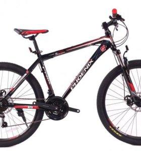 Велосипед алюминиевый, новый