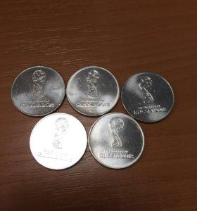 Монеты к чемпионату мира 2018