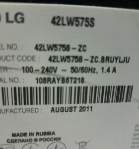 Телевизор LG42 led смарт