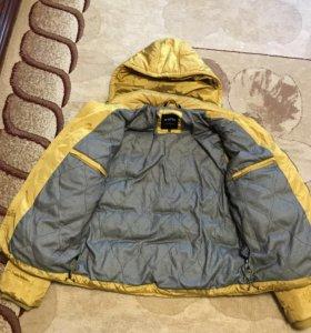 Куртка жолтая