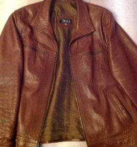 Куртка кожаная Испания куплена за 350 евро
