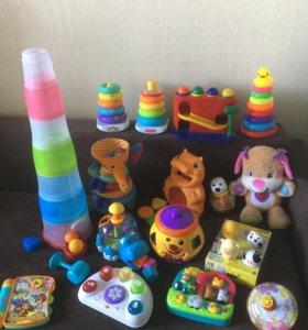 Развивающие игрушки 6мес+
