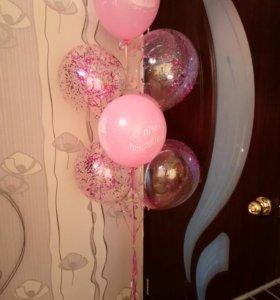 Фигуры из шаров. Гелиевые_шары.