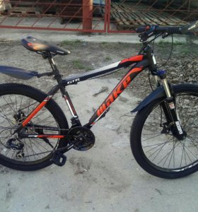 Велосипед алюминиевый