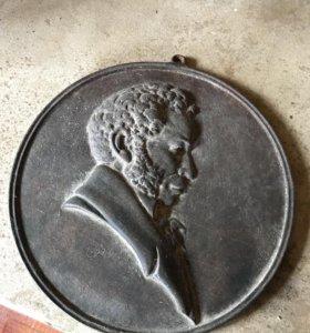 Пушкин медальон