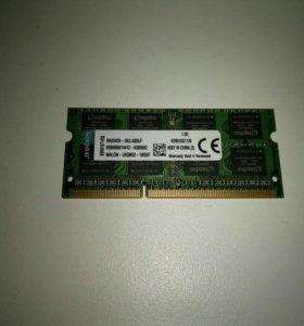 DDR 3 для ноутбука 8Гб