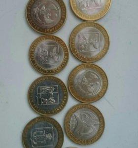 Монеты Биметалл РФ