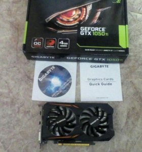 Geforce GTX1050Ti 4GB продам