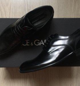 Новые туфли Dolce Gabbana оригинал 41