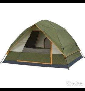 Трехместная палатка автомат, новая