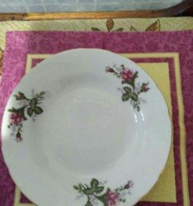 Большие суповые тарелки