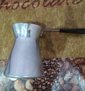 Турка алюминиевая новая 0.5 л