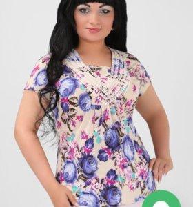 Блузка размер 58