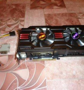 Игровая видеокарта Asus HD 7950 3Gb 384bit
