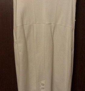 Платье гипюровое б/у