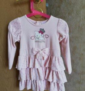 Платье Hello Kitty