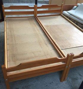 Кровать 80x200 2 шт