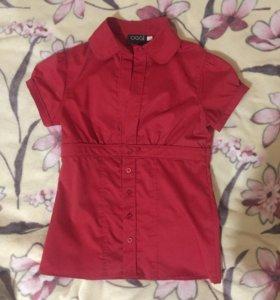 Блузка Oggi темно-красная. Р. 42