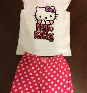 Костюм, пижама, шорты, футболка (7-8 лет)