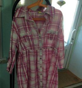 Платье-рубашка новая