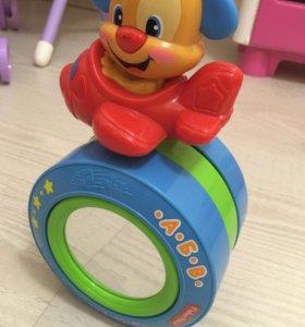 """Развивающая игрушка Fisher Price """"говорящий щенок»"""