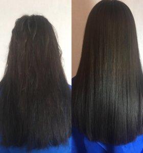 Ботекс,кератиновое выпрямление волос низкие цены!