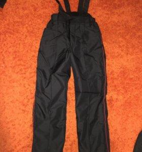 Ватные штаны демисезонные брюки полиции