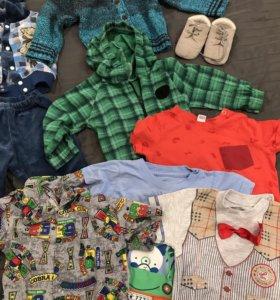 Вещи пакетом для мальчика 74 размер