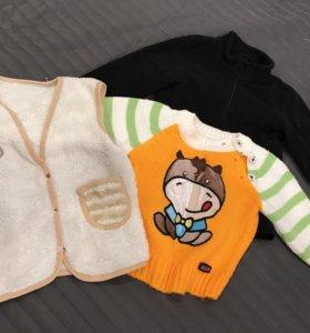Вещи для мальчика размер 74-80