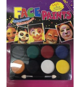 Краски для разрисовывания лица и тела Face Paints