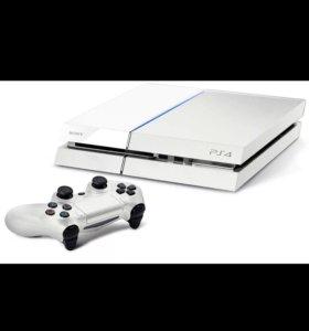 Sony 4 белая