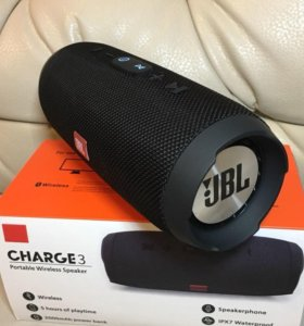Колонка JBL Charge 3, 7 цветов, Гарантия, Доставка