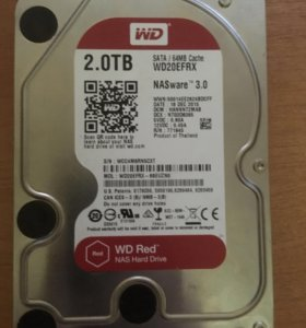 HDD WD RED 2TB