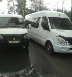 Пассажирские перевозки заказ аренда микроавтобуса