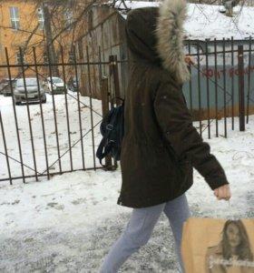 Парка зима осень весна (куртка)