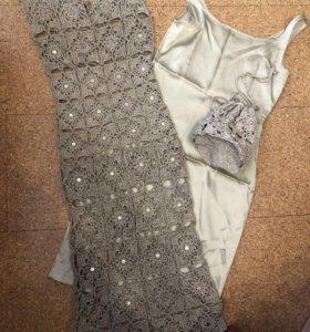 Вечернее платье + сумочка
