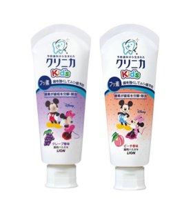 Зубная паста для детей. Япония