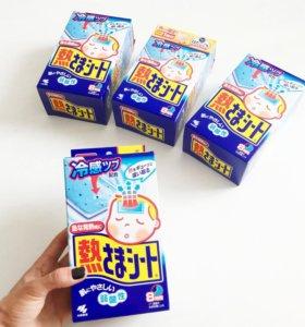 Пластырь детский от температуры. Япония
