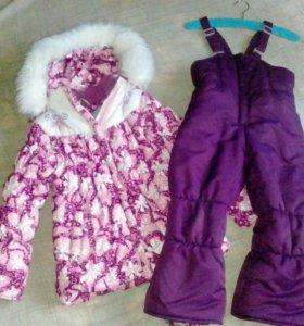 СРОЧНО! Зимний костюм на девочку