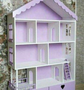 Кукольный домик/ автопарковки